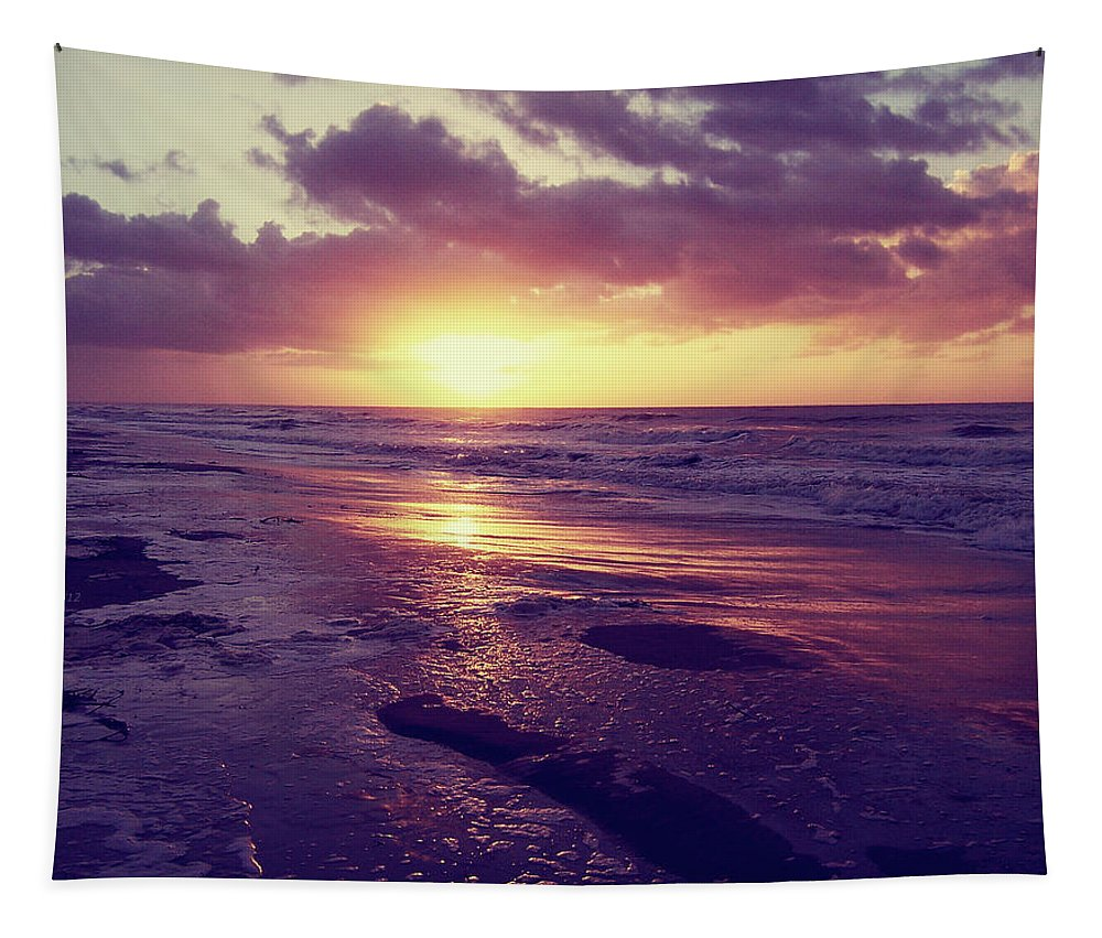 Photography Tapestry featuring the photograph South Carolina Sunrise by Phil Perkins