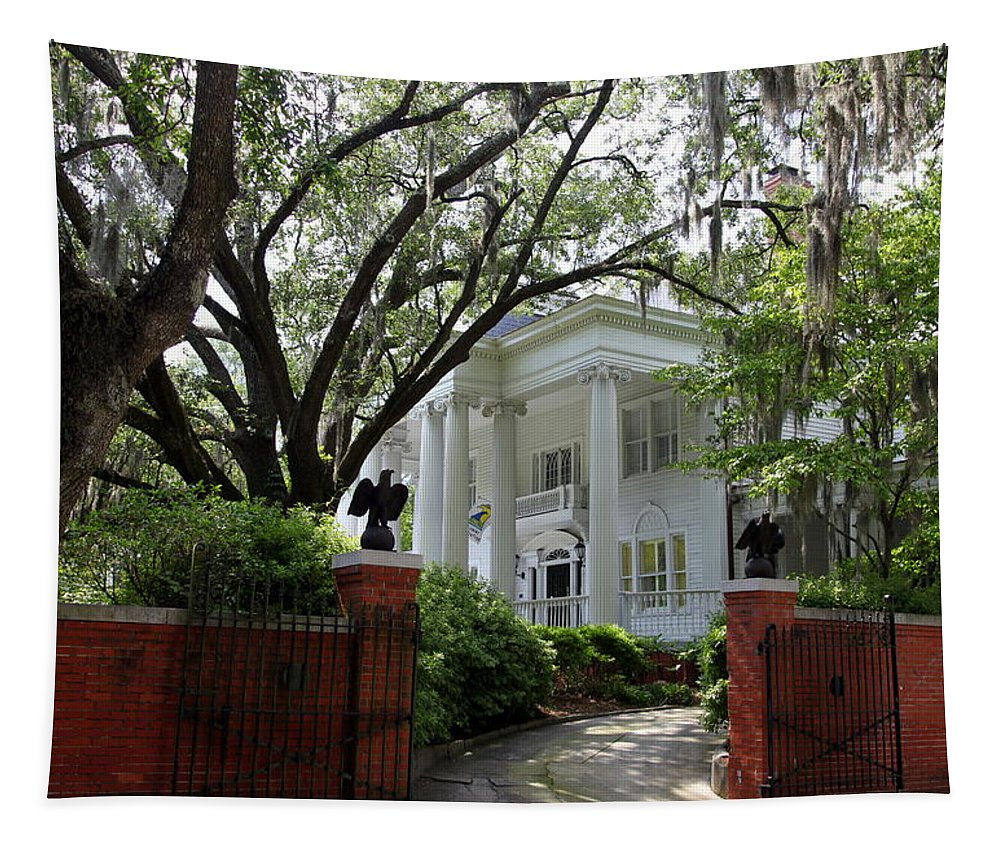 Wilmington Tapestry featuring the photograph Southern Living by Karen Wiles