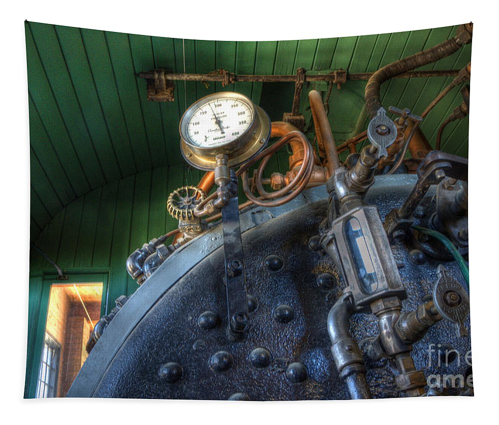 Steampunk Tapestry featuring the photograph Steampunk 2 by Bob Christopher