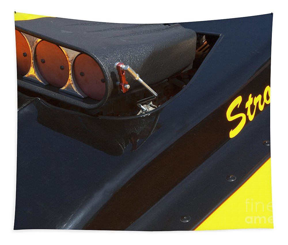 Stroker Tapestry featuring the photograph Stroker Hood by Bob Christopher