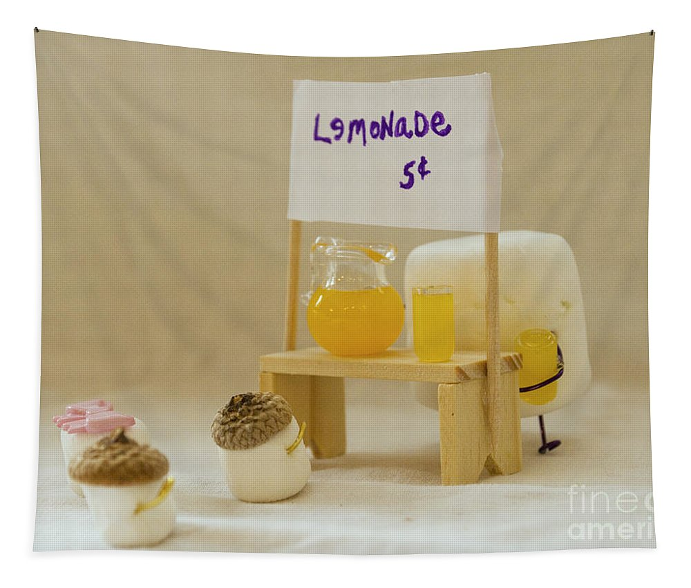 Lemonade Stand Tapestry featuring the photograph Summer Sweetness by Heather Applegate