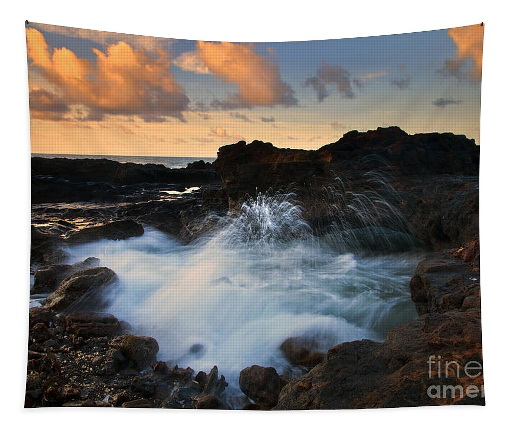 Arch Tapestry featuring the photograph Sunrise Arch by Mike Dawson