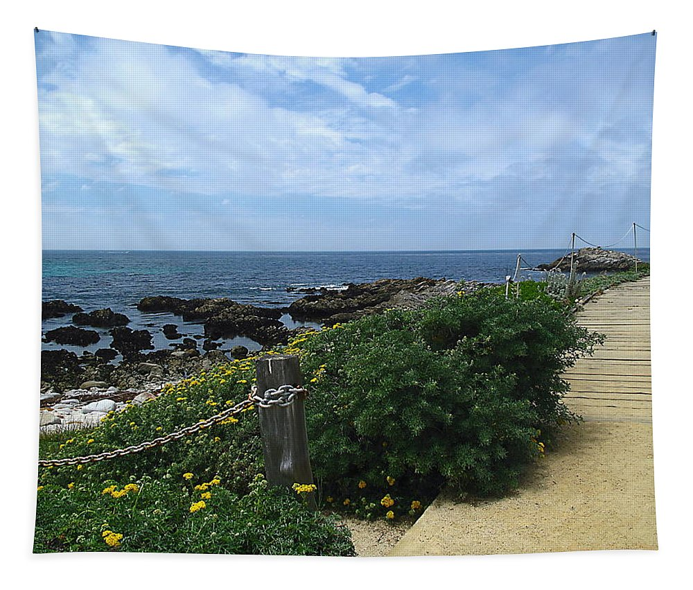 Ocean Tapestry featuring the photograph Take A Walk With Me by Joyce Dickens