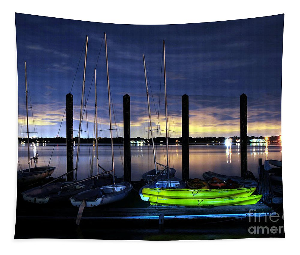 Sea Tapestry featuring the photograph The Kayak by Paul Ward