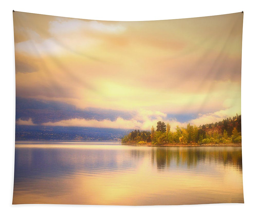Autumn Tapestry featuring the photograph The Morning Quiet by Tara Turner