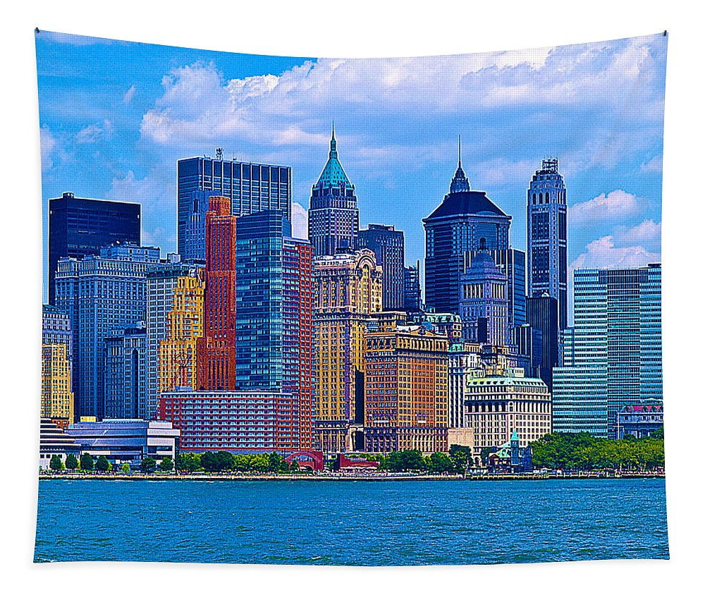 Photography Tapestry featuring the photograph The Other Side Of The City by Paul Wear