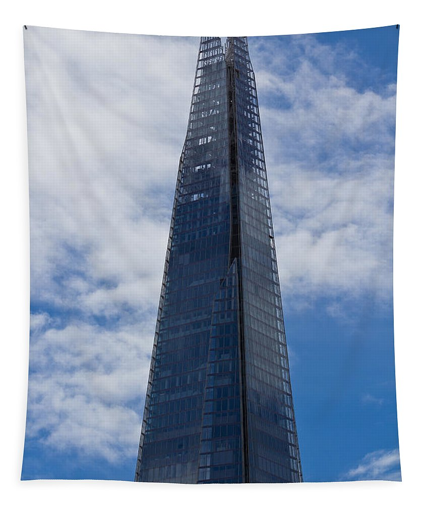 London Tapestry featuring the photograph The Shard by David Pyatt