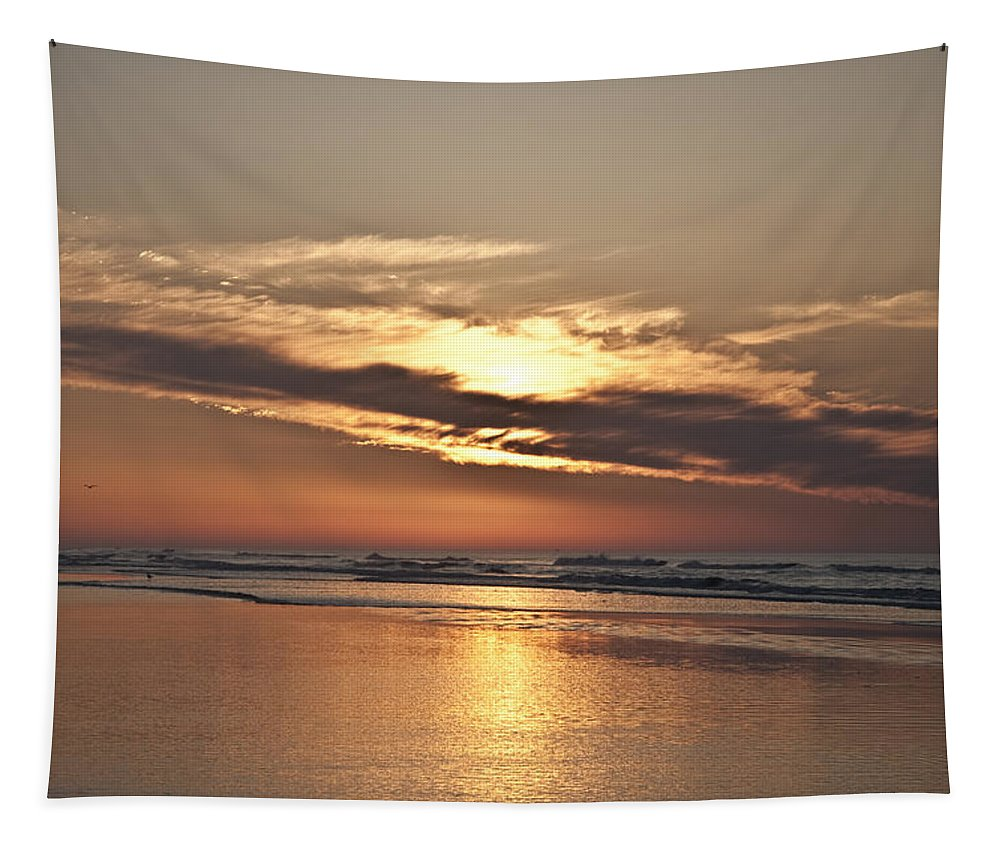 Till The Morning Comes Tapestry featuring the photograph Till The Morning Comes by Bill Cannon
