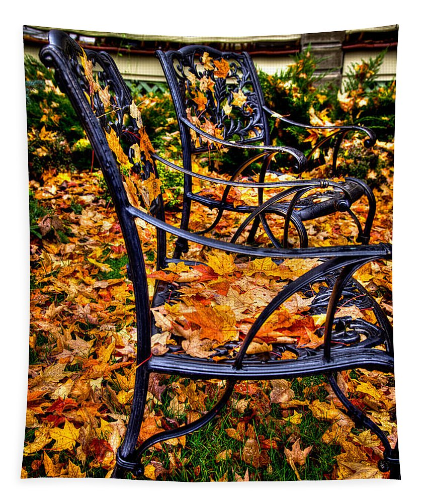 Autumn Tapestry featuring the photograph Time To Rake by David Patterson
