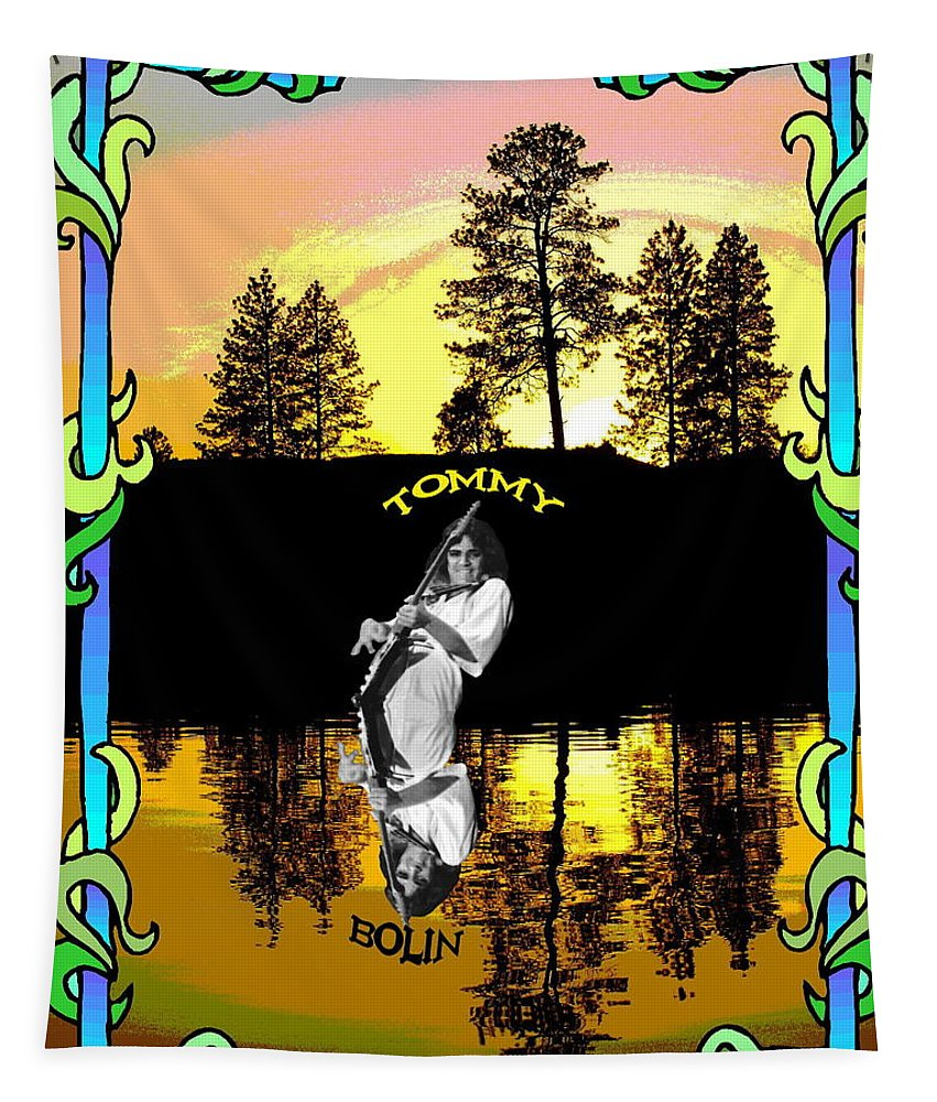 Tommy Bolin Tapestry featuring the photograph Amber Lake #2 by Ben Upham