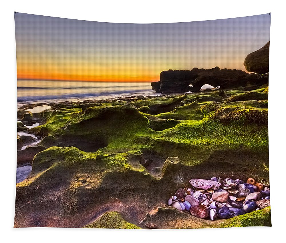 Blowing Rocks Tapestry featuring the photograph Treasure Trove by Debra and Dave Vanderlaan