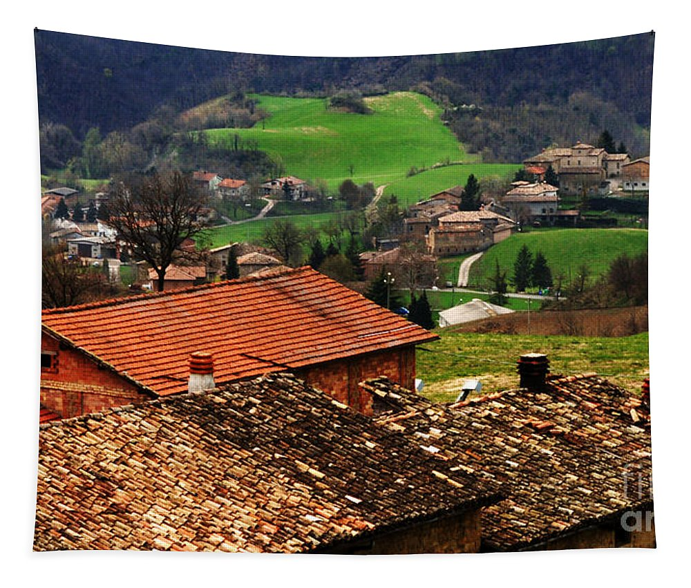 Tuscany Tapestry featuring the photograph Tuscany Landscape 2 by Bob Christopher