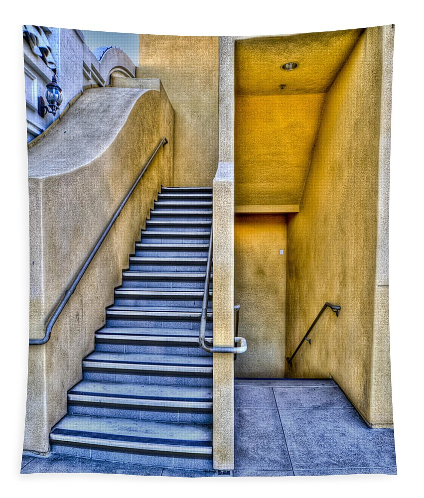 Photography Tapestry featuring the photograph Up Stairs Down Stairs by Paul Wear