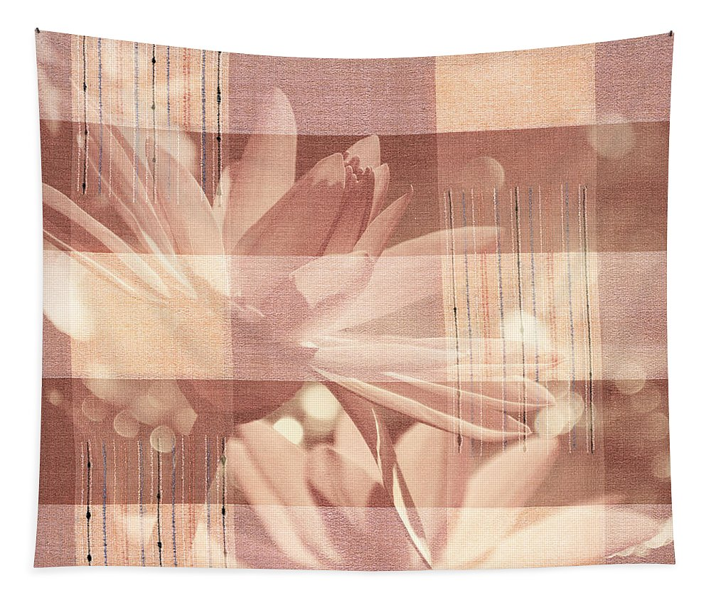 Flower Tapestry featuring the photograph Very Subtle by Trish Tritz