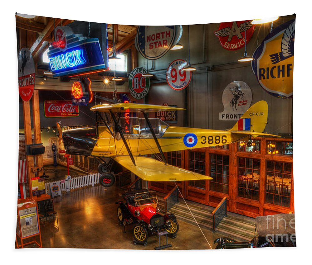 Vintage Airplane Tapestry featuring the photograph Vintage Assortment by Bob Christopher