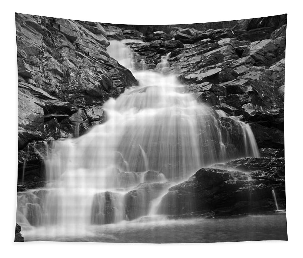 Nature Tapestry featuring the photograph Wahconah Falls by Mike Martin