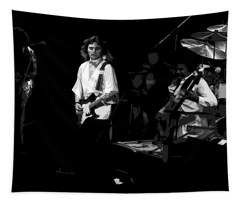 Tommy Bolin Tapestry featuring the photograph Winterland Lotus by Ben Upham