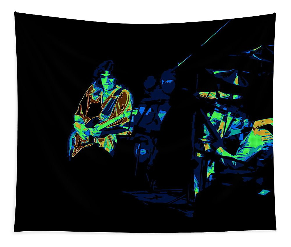 Tommy Bolin Tapestry featuring the photograph Winterland Post Cosmic Toastee by Ben Upham