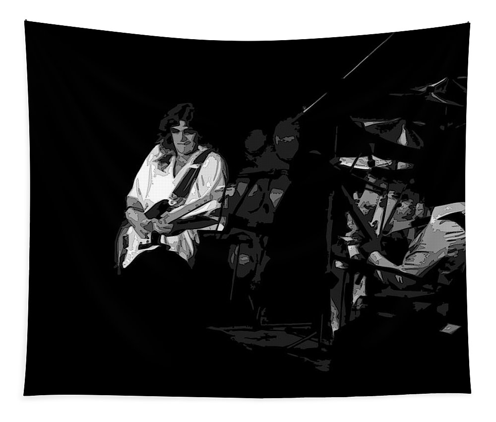 Rock Musicians Tapestry featuring the photograph Winterland Post Toastee by Ben Upham