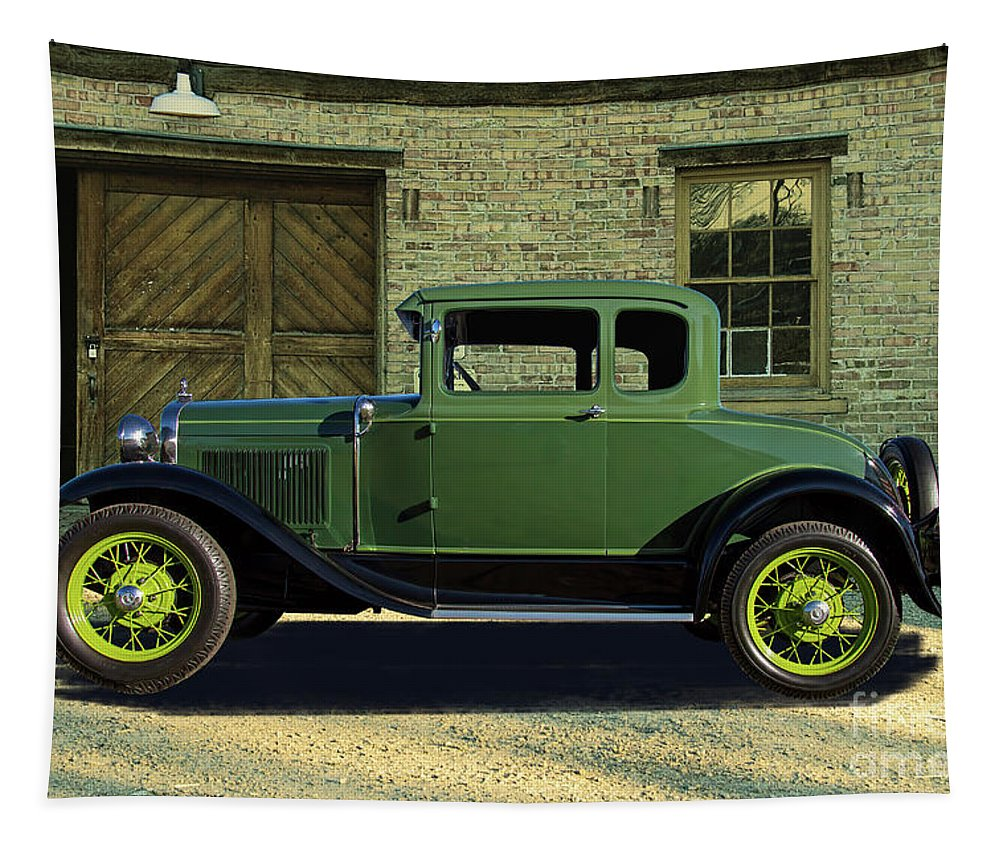 1930 Tapestry featuring the photograph 1930 Ford Model A Roadster by Nick Gray