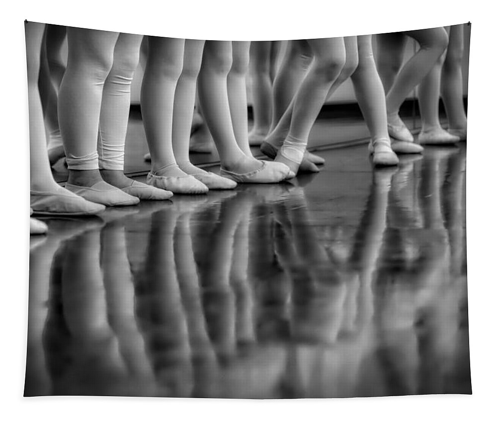 Ballerina Tapestry featuring the photograph Ballet Class by Skitterphoto