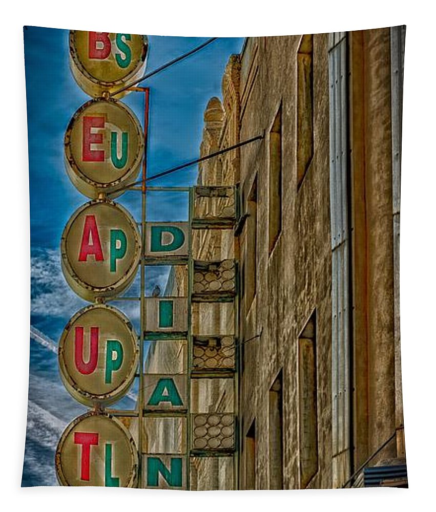 El Paso Tapestry featuring the photograph Beauty Supply by Mountain Dreams