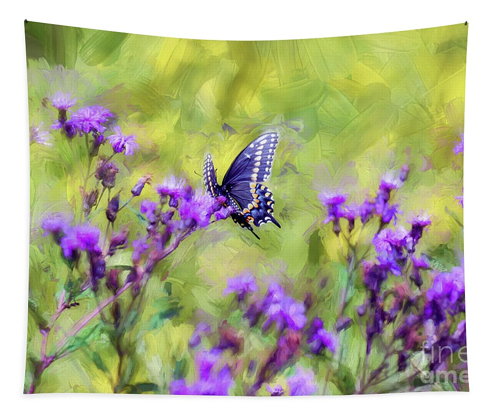 Butterfly Tapestry featuring the photograph Butterfly Beauty by Kerri Farley