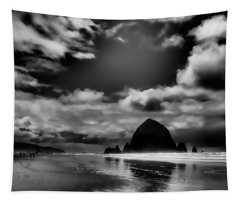 Cannon Beach Tapestry featuring the photograph Cannon Beach by David Patterson