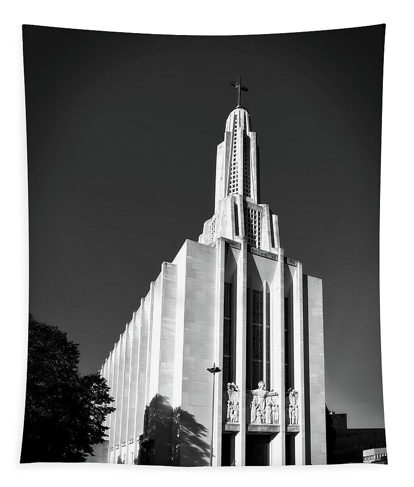 Cathedral Of Saint Joseph Tapestry featuring the photograph Cathedral Of Saint Joseph by Mountain Dreams