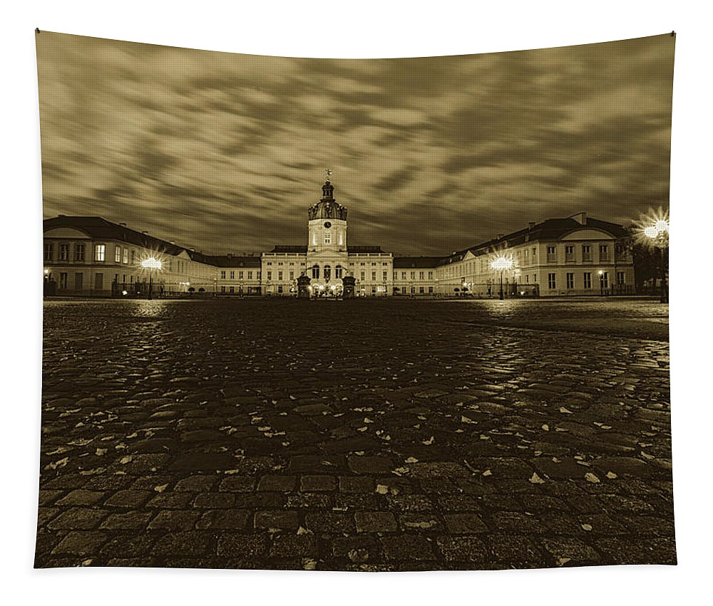 Charlottenburg Palace Tapestry featuring the photograph Charlottenberg Palace by Pixabay