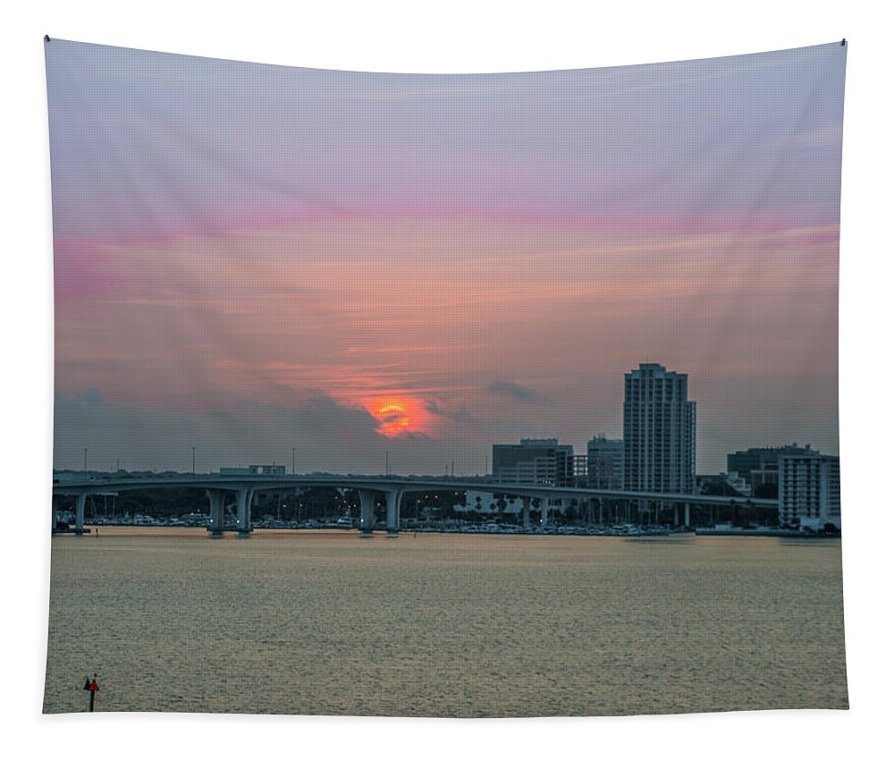 Clearwater Tapestry featuring the photograph Clearwater At Sunrise by Bill Cannon