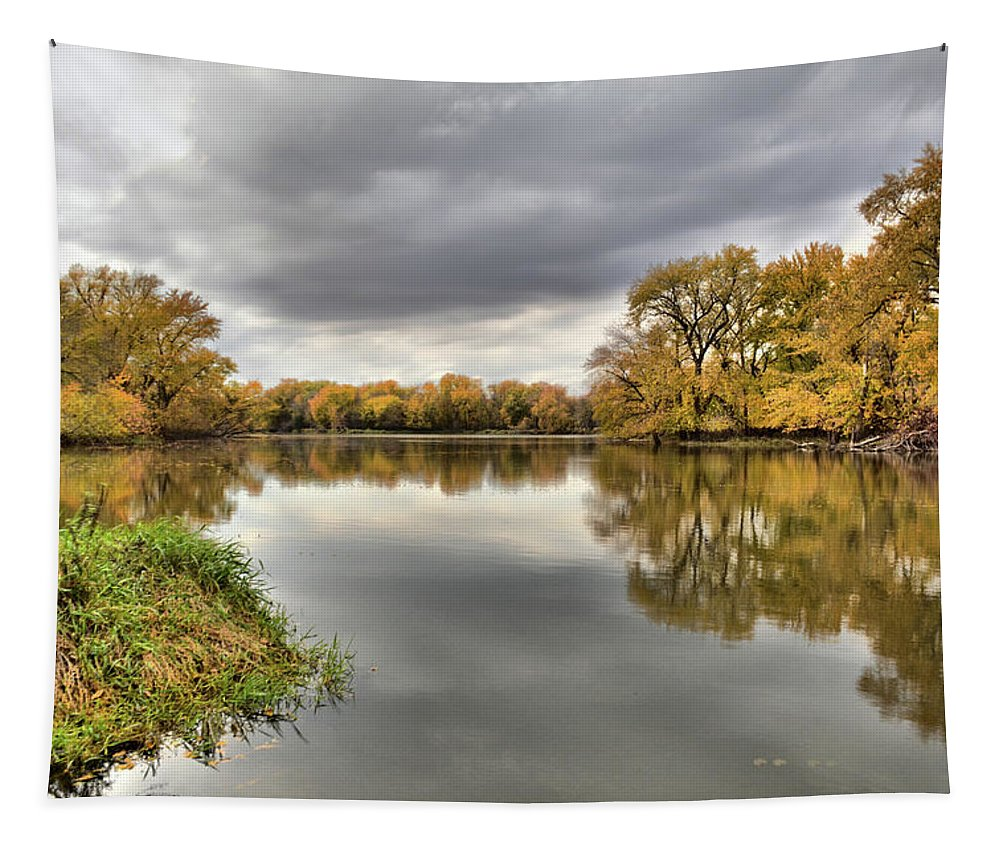 Water Tapestry featuring the photograph Considine Autumn 2 by Bonfire Photography