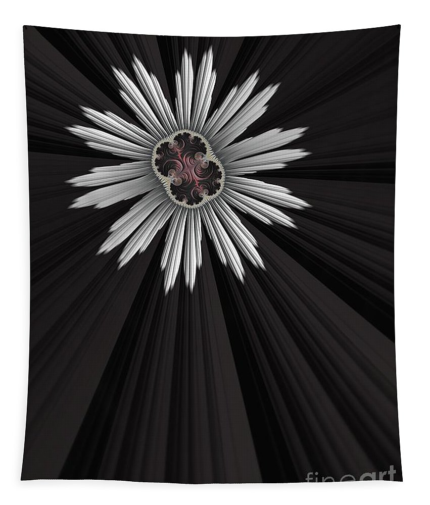 Gears Tapestry featuring the digital art Starbright by John Edwards
