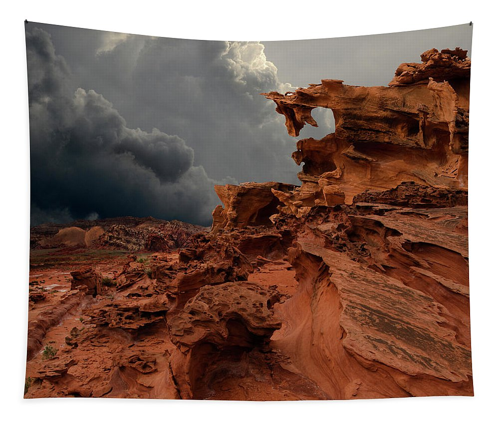 Hoodoo Tapestry featuring the photograph Dragon's Breath by Bob Christopher