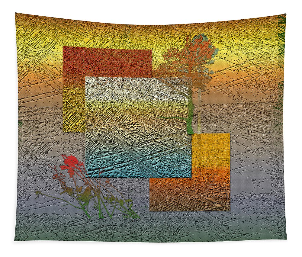 �from Dusk Till Dawn� Collection By Serge Averbukh Tapestry featuring the photograph Early Morning in Boreal Forest by Serge Averbukh