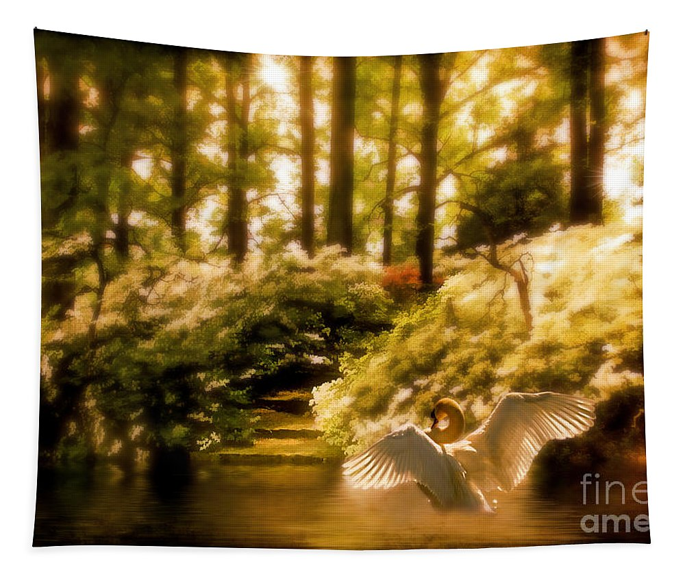 Nature Tapestry featuring the photograph Fantasy Land by Lois Bryan