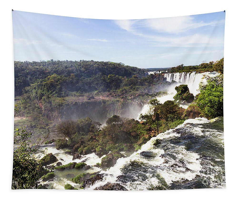 Nature Tapestry featuring the photograph Flowing Water by Mirko Chianucci