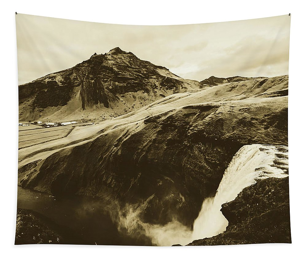 Iceland Tapestry featuring the photograph Icelandic Magic by Unsplash