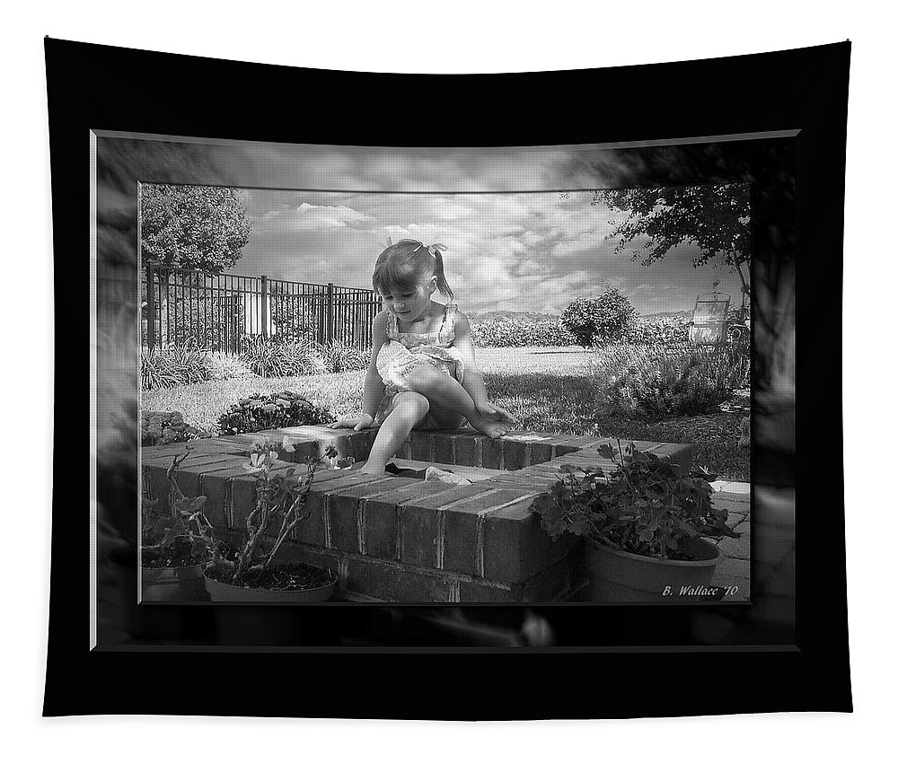 2d Tapestry featuring the photograph Imagination by Brian Wallace