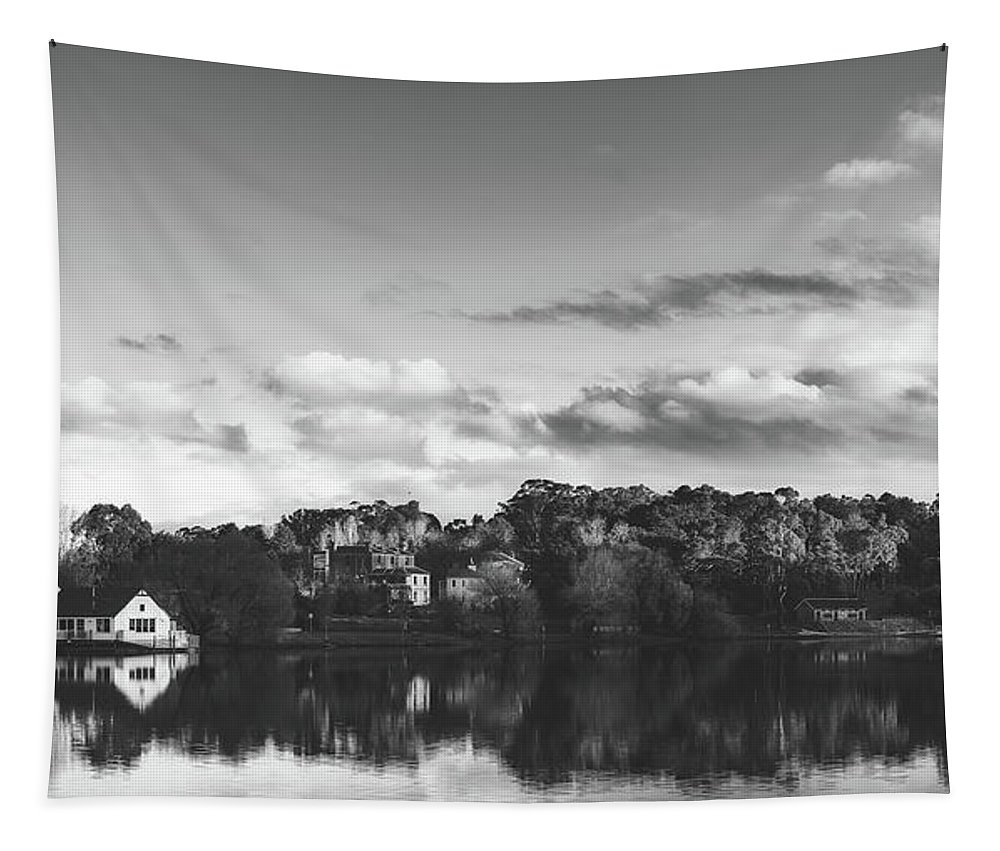 Lake Daylesford Tapestry featuring the photograph Lake Daylesford, Australia by Unsplash