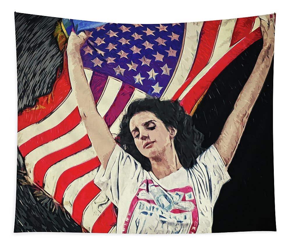 Lana Del Rey Tapestry For Sale By Zapista Ou