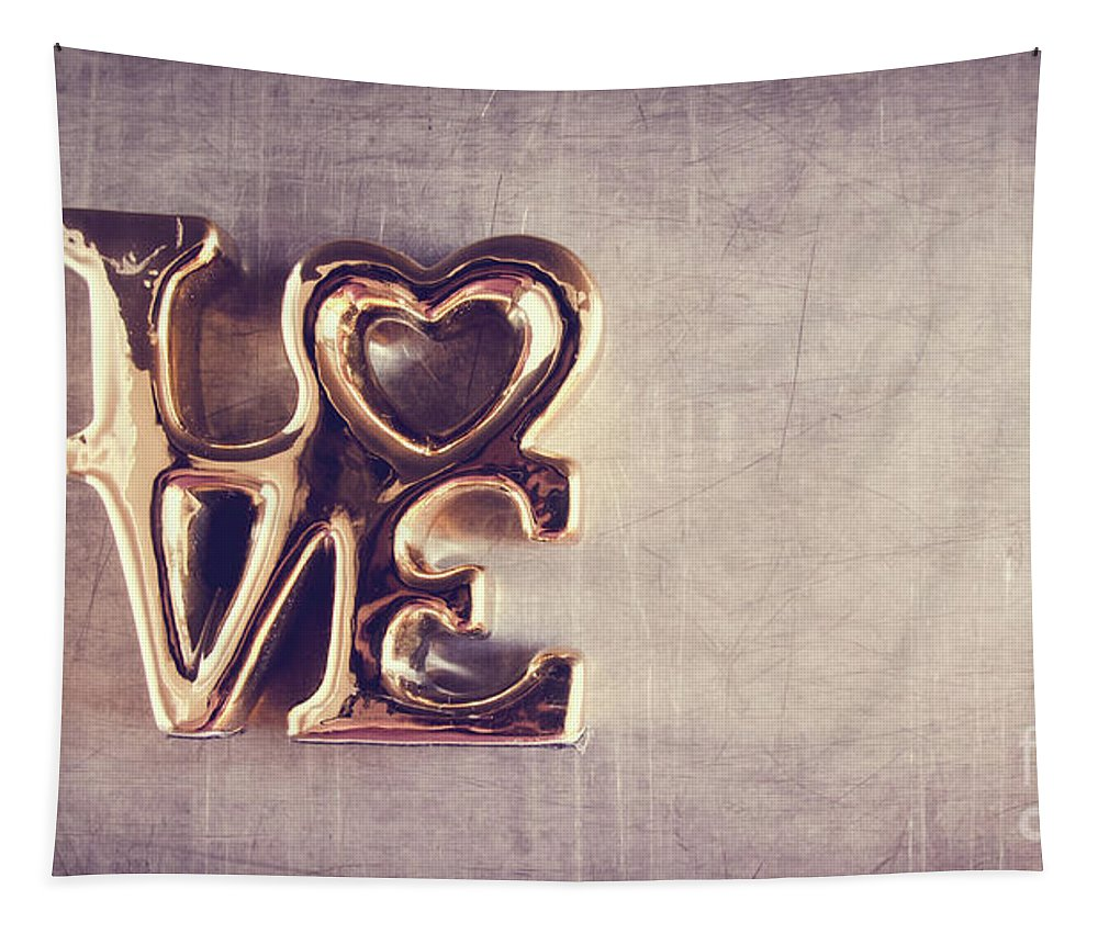 Love Tapestry featuring the photograph Love 2 by Andrea Anderegg