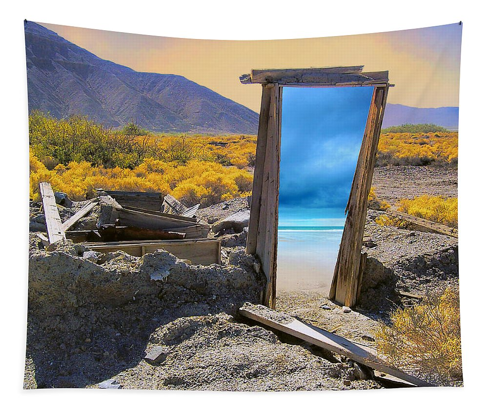 Mirage Tapestry featuring the photograph Mirage by Dominic Piperata