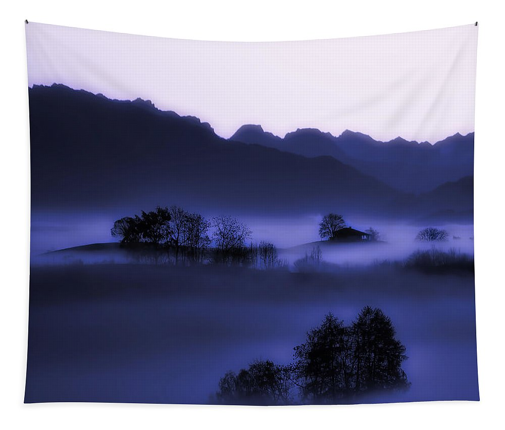 Sunrise Tapestry featuring the photograph Morning Stillness by Ricardo Gomez Angel