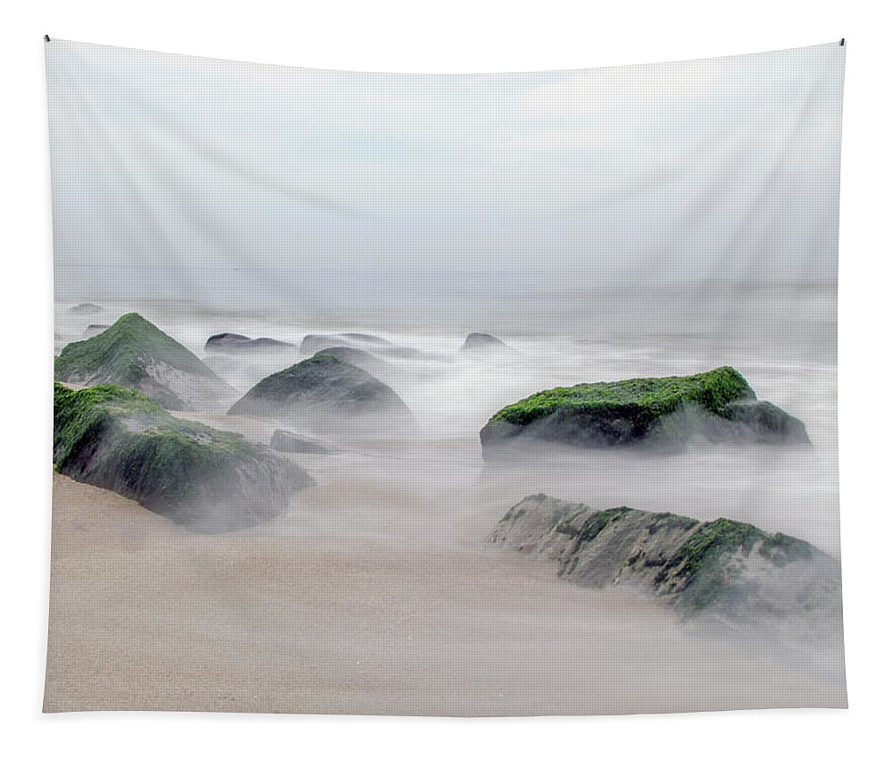 Ocean Tapestry featuring the photograph Ocean View by Eleanor Bortnick