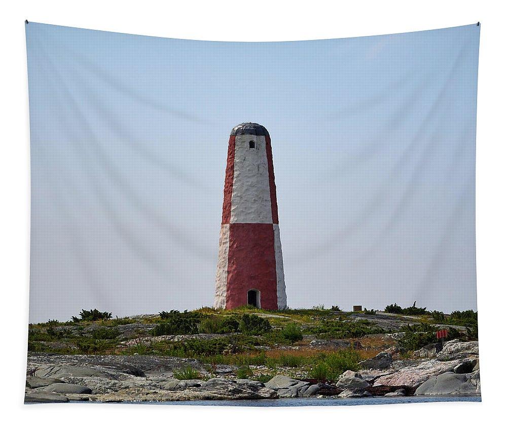 Jouko Lehto Tapestry featuring the photograph Pooki Daymark by Jouko Lehto