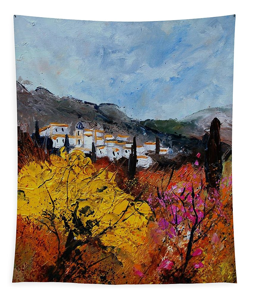 Provence Tapestry featuring the painting Provence by Pol Ledent