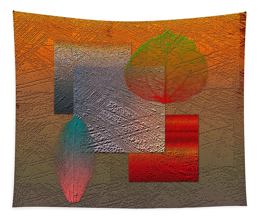 Abstracts By Serge Averbukh Tapestry featuring the photograph Quiet Sunset at the End of Northern Summer by Serge Averbukh