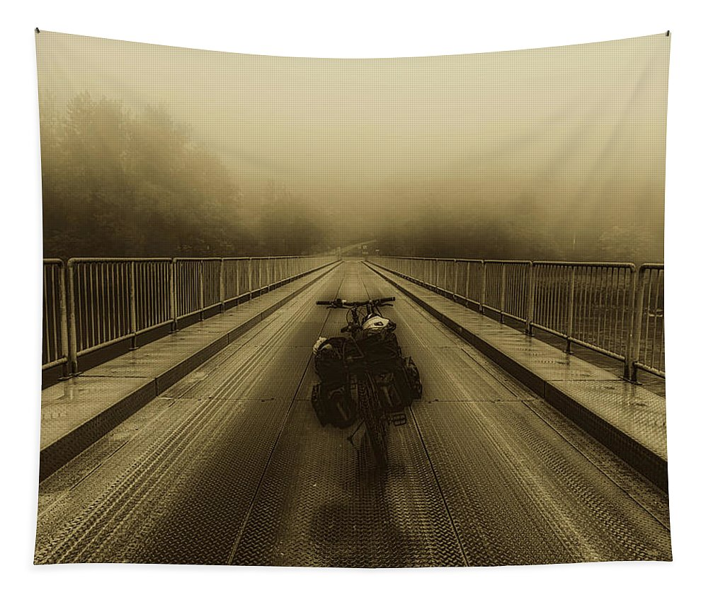 Motorcycle Tapestry featuring the photograph Sights Along The Way by Pixabay