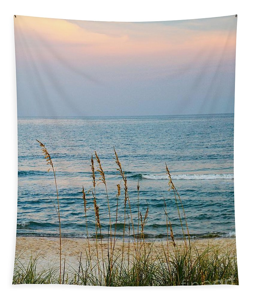 Beach Tapestry featuring the photograph Sunrise And Sand by Paul Wilford